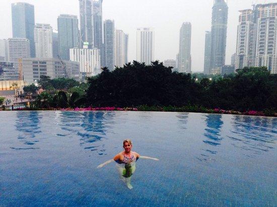 Mandarin Oriental, Kuala Lumpur : Best pool ever