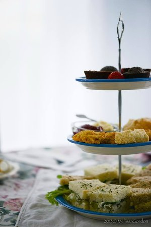 Southport Tea House: Full lunches (sandwiches, salads, quiche) and afternoon tea (anytime)