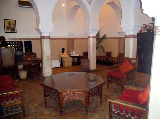 Equity Point Marrakech Hostel: Reception