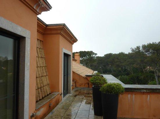 Grande Real Villa Italia Hotel & Spa: Double terrasse