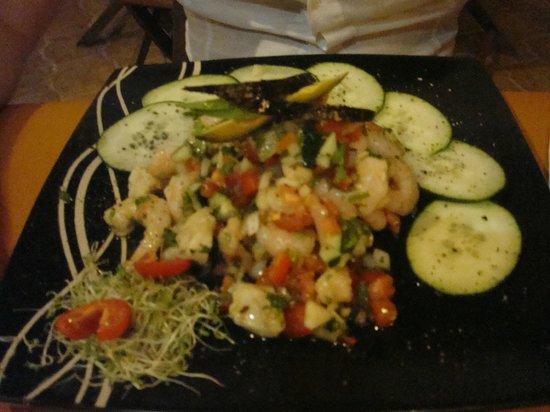 Cocos Cabañas: riquisima cocina