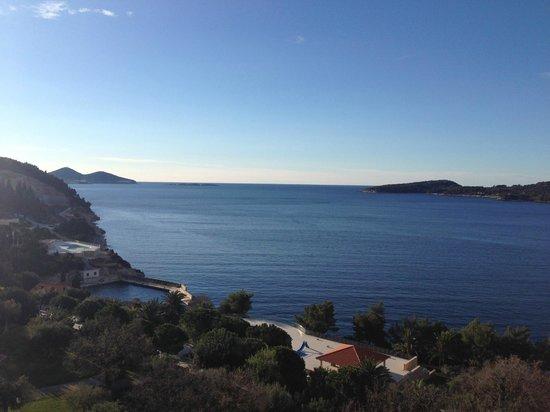 Radisson Blu Resort & Spa at Dubrovnik Sun Gardens: View from room 610