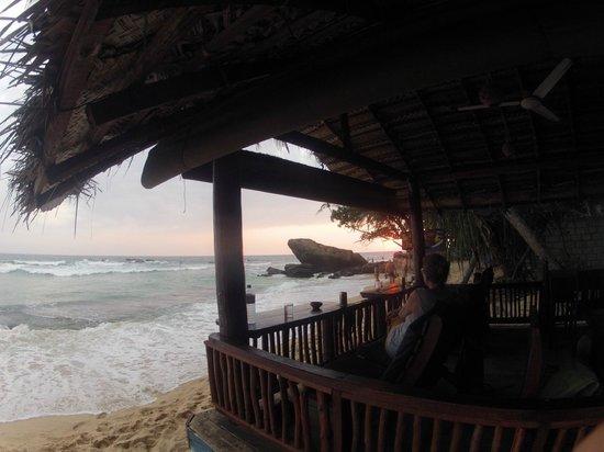 Rathna Guesthouse: Sundown