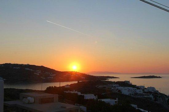 Myconian K Hotels: Sunset