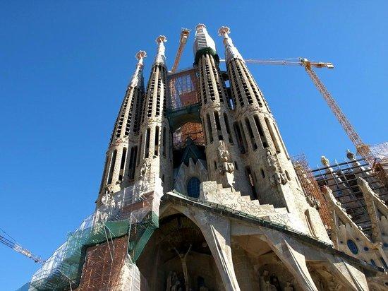 Sagrada Família : Ново строй-ка