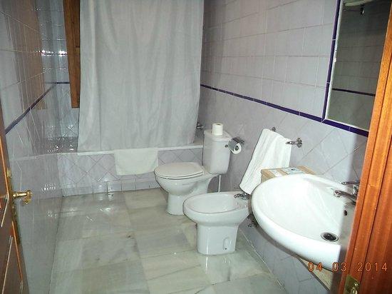Hostal Puerta Carmona: bagno