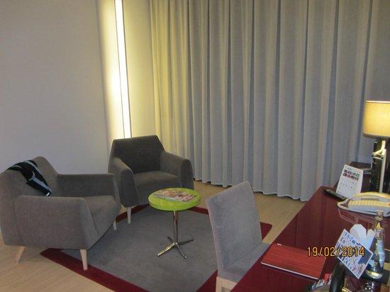 Tryp Barcelona Aeropuerto Hotel : Salón Junior Suite