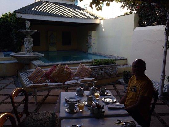 Labri Manor: Frühstück