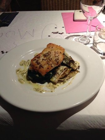 The Wookey Hole Inn : Cod and Fish Cake