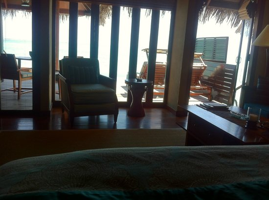 Taj Exotica Resort & Spa: view from the bed