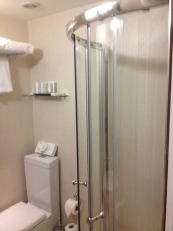 Best Western Boltons Hotel London Kensington : Shower