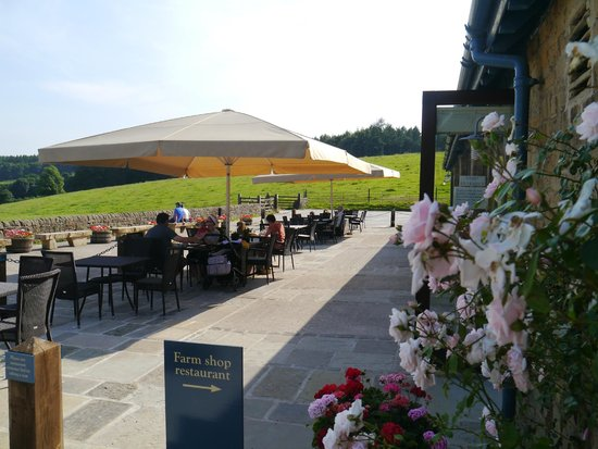Chatsworth Estate Farm Shop Cafe: Outside Seating Area