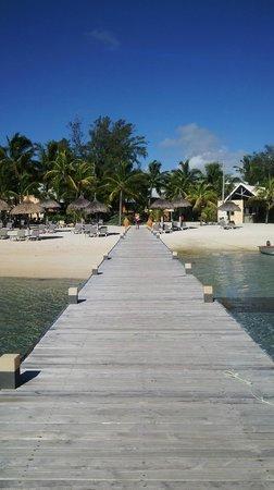 Preskil Beach Resort: Dock