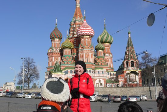 Moscow Free Tour: St Basils Cathedral
