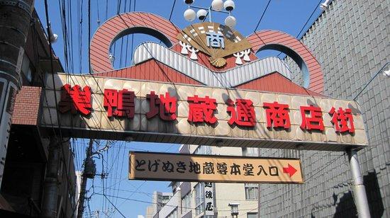 Sugamo Jizo-dori Shopping Street : 巣鴨地蔵商店街