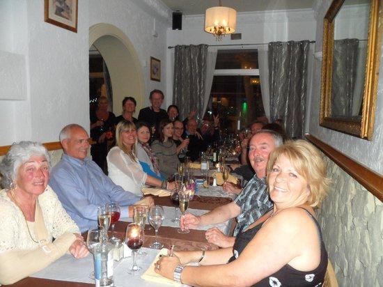 Neils Brasserie: eveing with friends