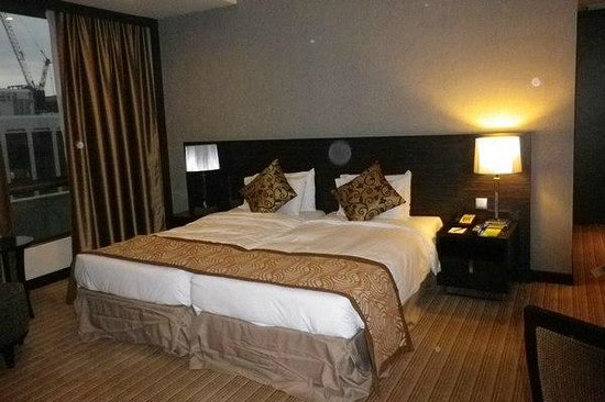 Peninsula Excelsior Hotel: Our large room