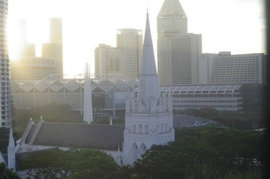 Peninsula Excelsior Hotel: Morning view