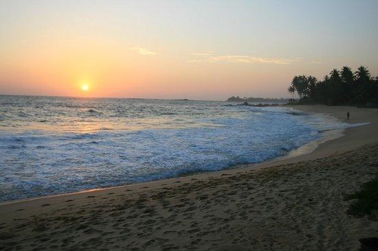EKA Beach : Sunset from Eka
