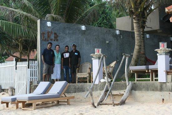 EKA Beach : Eka Staff