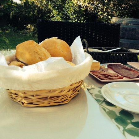Sauvignon Country Lodge: Rock star breakfast