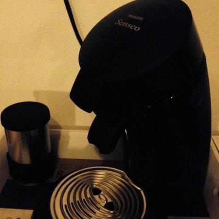 Sauvignon Country Lodge: Senseo coffee machine