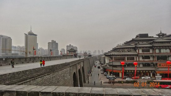 Xi'an City Wall (Chengqiang): Xi'an City wall
