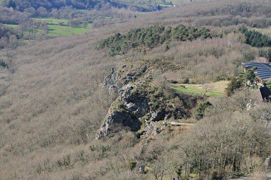Montgolfieres de Falaise : La Roche d'Oëtre