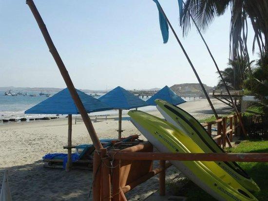 Hotelier Arte y Cocina: Playa del HOtel