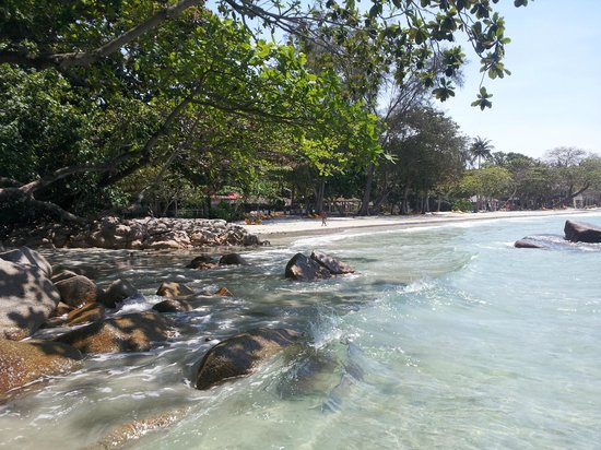 Nirwana Gardens - Nirwana Resort Hotel: Beautiful clear seas