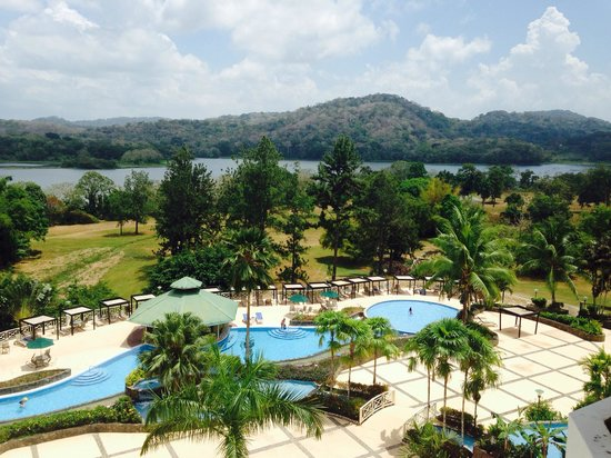 Gamboa Rainforest Resort: Pool and rainforest backdrop