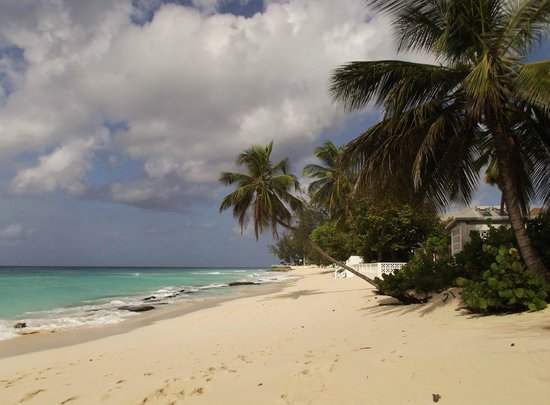 Coral Mist Beach Hotel: spiaggia di Worthing