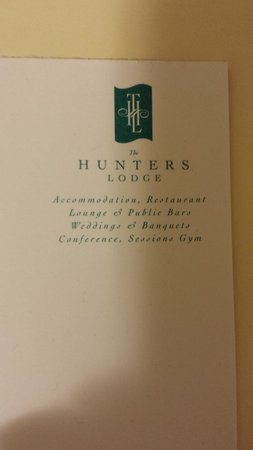 The Hunters Lodge : Printed Stationary