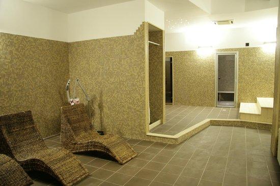 area benessere - sauna e bagno turco - Picture of Zaiera Resort Club ...