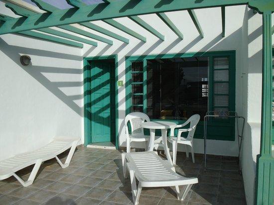 Bandama Bungalows: terrace