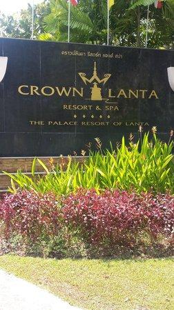 Crown Lanta Resort & Spa : Entrée