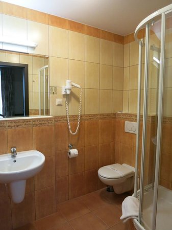 Wielopole Hotel: Ванная комната