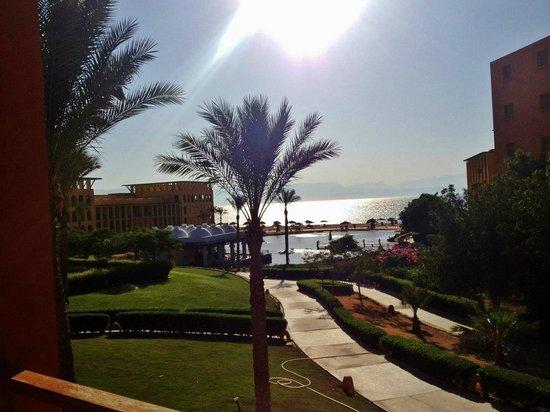 Strand Beach and Golf Resort Taba Heights : Вид на море и на морскую лагуну