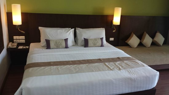 Crown Lanta Resort & Spa : Le lit