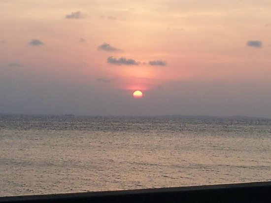 Nirwana Gardens - Nirwana Resort Hotel: Sunset from Calypso Bar