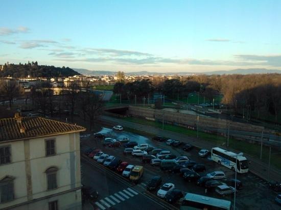 Starhotels Michelangelo: veduta dal settimo piano