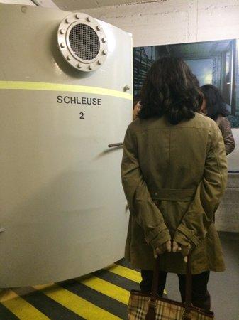 Berliner Unterwelten: 3 Decontamination room