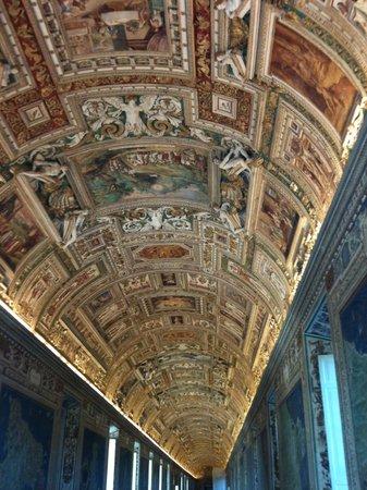 Vatikanische Museen (Musei Vaticani): Hallway