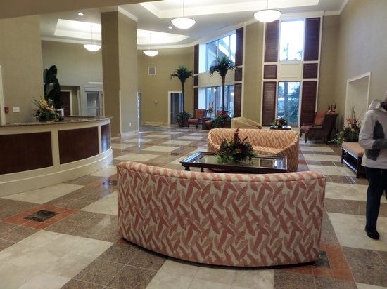 Royale Palms Condominiums by Hilton: The other lobby to hang out
