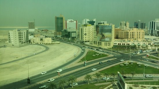 Fraser Suites Seef Bahrain: view from the apartment window