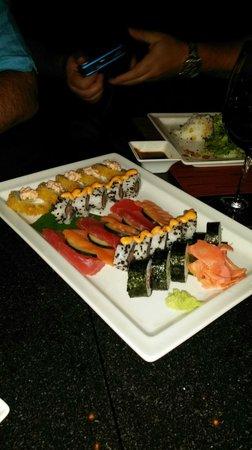 Now Amber Puerto Vallarta : Amazing sushi at Himitsu