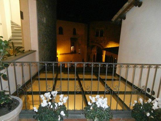 Palazzo Piccolomini : vista dalla camera