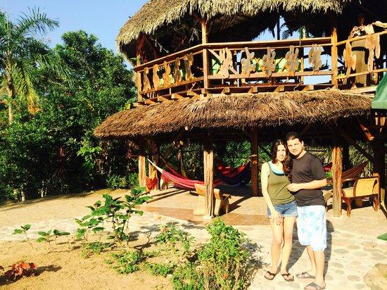 Suchipakari Amazon Rainforest Ecolodge: Bar-Mirador