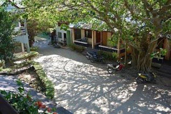 Buddha View Dive Resort : l'entrée de l'hotel