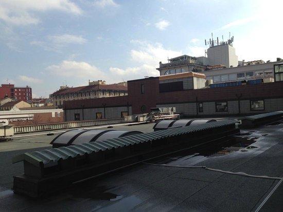 Milan Marriott Hotel: Aussicht aus dem Zimmer